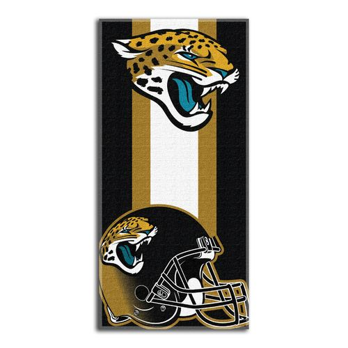 The Northwest Company Jacksonville Jaguars Zone Read Beach Towel