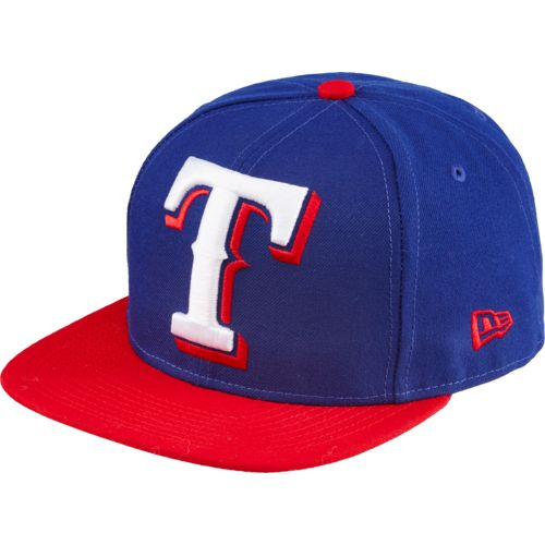 New Era Men's Texas Rangers Logo Grand Redux 9FIFTY Ball Cap
