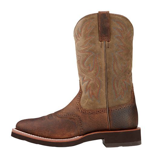 Display product reviews for Ariat Men's Heritage Crepe Western Boots