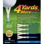 Green Keepers 4 Yards More Golf Tees 4-Pack