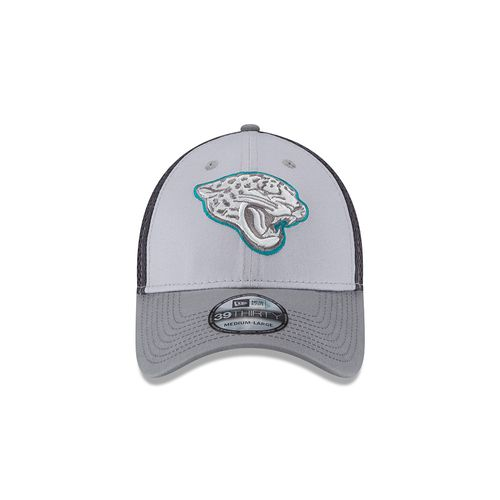 New Era Men's Jacksonville Jaguars Grayed Out Neo 39THIRTY Cap - view number 4