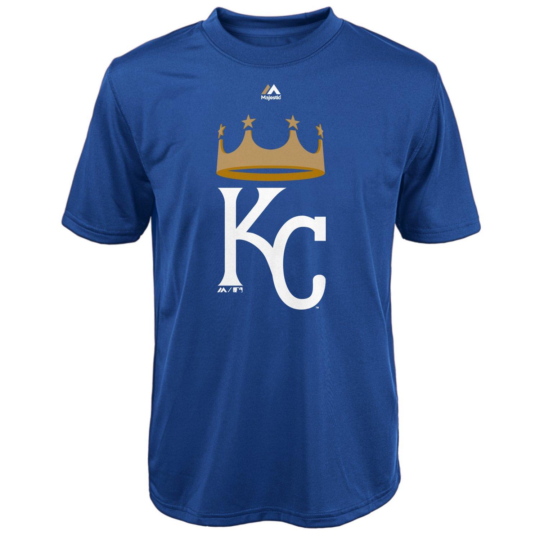 Majestic Boys' Kansas City Royals Spring Training Logo