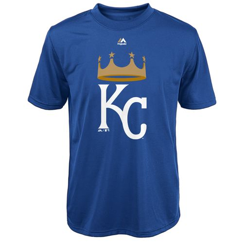 Majestic Boys' Kansas City Royals Spring Training Logo T-shirt