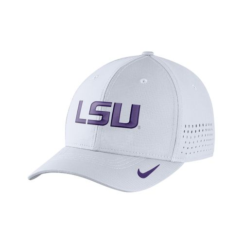 Nike™ Men's Louisiana State University Classic99 Swoosh Flex Cap