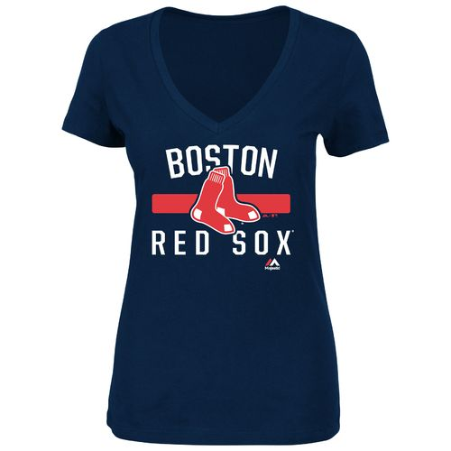 Majestic Women's Boston Red Sox One Game at a Time T-shirt