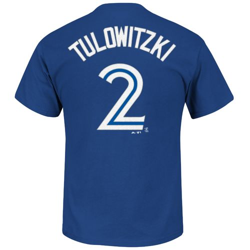 Majestic Men's Toronto Blue Jays Troy Tulowitzki #2 T-shirt