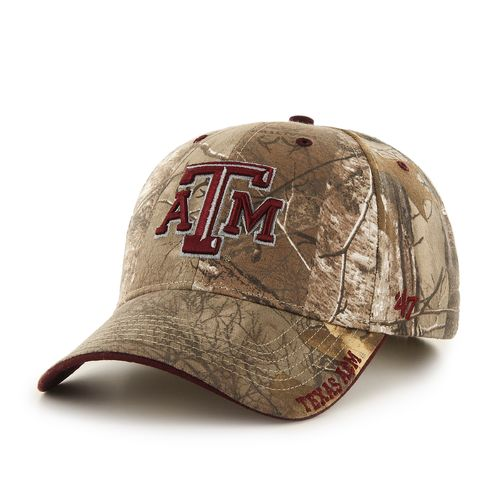 '47 Men's Texas A&M University Realtree Frost Cap