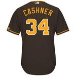 Majestic Men's San Diego Padres Andrew Cashner #34 Cool Base Replica Jersey