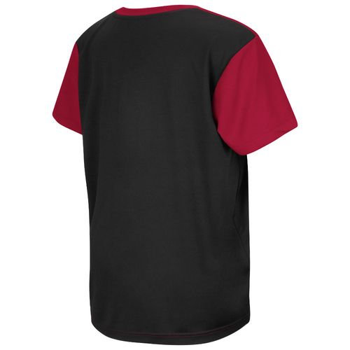 Colosseum Athletics™ Boys' University of Arkansas Short Sleeve T-shirt - view number 2