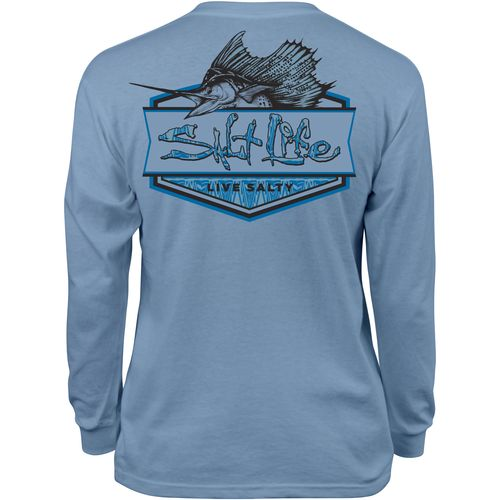 Salt Life™ Kids' Sailfish Badge Long Sleeve T-shirt