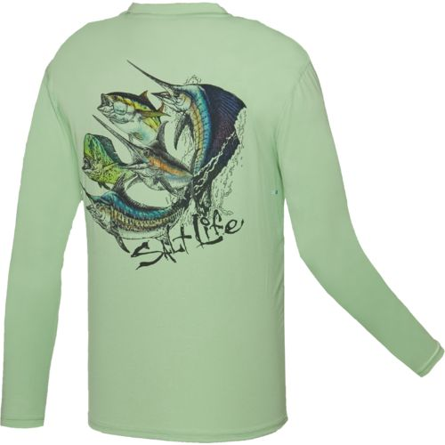Salt Life™ Men's Fisherman's Dream SLX UVapor Performance