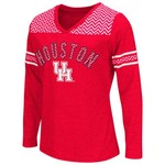 Colosseum Athletics™ Girls' University of Houston Cupie Long Sleeve T-shirt