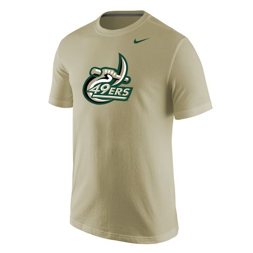 Nike Men's University of North Carolina at Charlotte Logo T-shirt