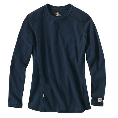 Carhartt Women's Force Cotton Flame Resistant Long Sleeve T-shirt