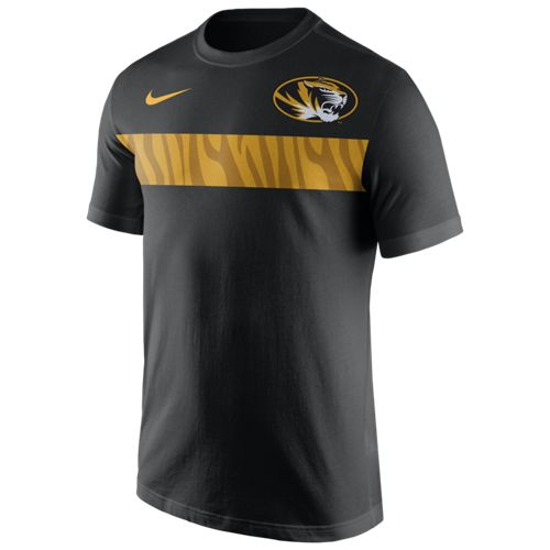 Nike™ Men's University of Missouri Team Stripe T-shirt