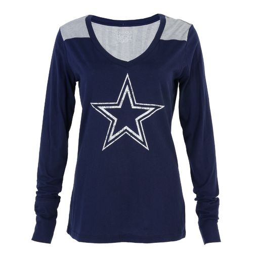 Dallas Cowboys Women's Rockwell Long Sleeve T-shirt