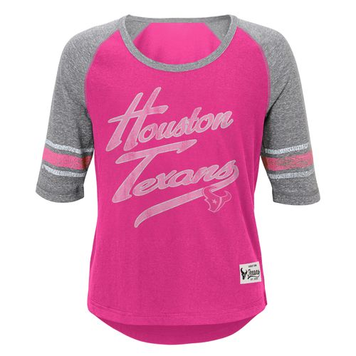 NFL Girls' Houston Texans High-Low T-shirt