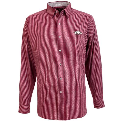 Antigua Men's University of Arkansas Division Dress Shirt
