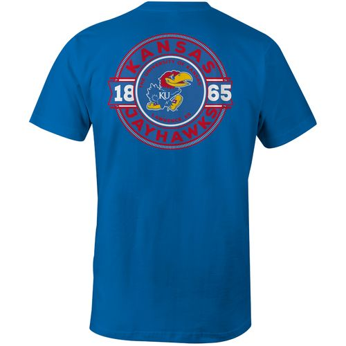 Image One Men's University of Kansas Rounds Comfort Color Short Sleeve T-shirt