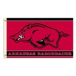 BSI University of Arkansas 3'H x 5'W Mascot Flag - view number 1