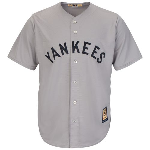 Majestic Men's New York Yankees Babe Ruth #3 1927 Cool Base Cooperstown Jersey - view number 3