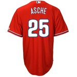 Majestic Men's Philadelphia Phillies Cody Asche #25 Cool Base Replica Jersey