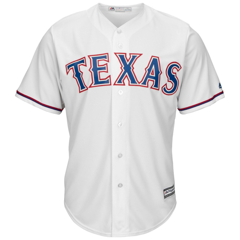 Majestic Men's Texas Rangers Nolan Ryan #34 Cool Base Replica Jersey - view number 3