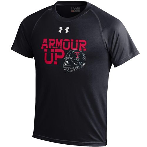 Under Armour™ Boys' Texas Tech University Tech T-shirt
