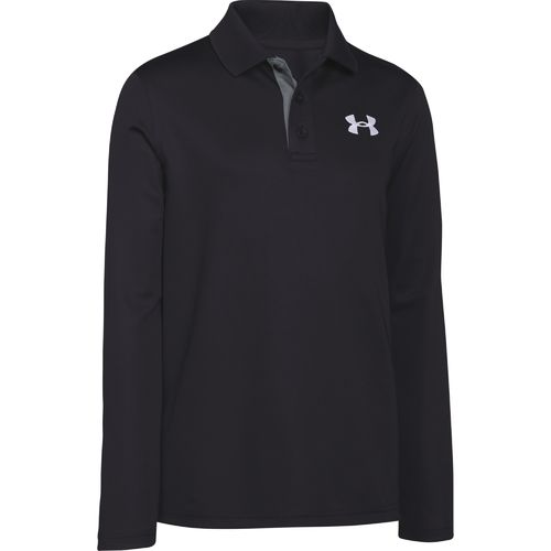 Under Armour™ Boys' Match Long Sleeve Polo Shirt