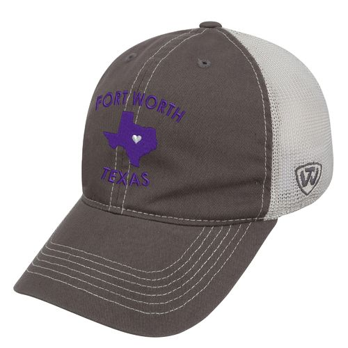 Top of the World Women's Texas Christian University Roots Cap