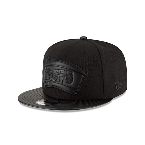New Era Men's San Antonio Spurs Tonal Trick Snapback Cap