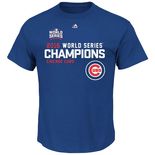 Majestic Men's Chicago Cubs Sweet Lineup World Series Champions T-shirt