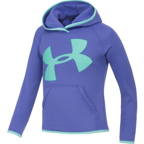 Under Armour™ Girls' Armour Fleece Jumbo Big Logo Hoodie