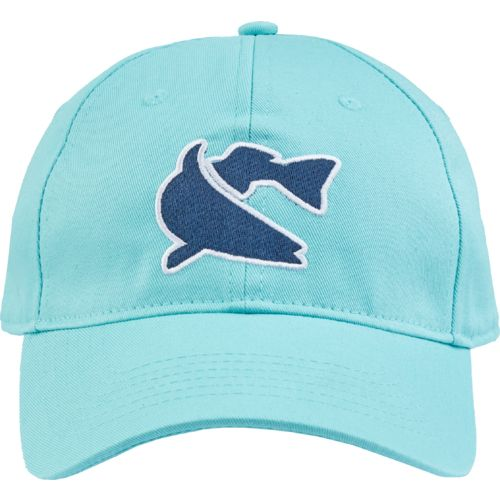 Display product reviews for CCA Men's Fish Logo Solid Trucker Cap
