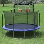 Skywalker Trampolines Double Basketball Hoop for 15' Trampolines - view number 6
