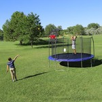 Skywalker Trampolines Double Basketball Hoop for 15' Trampolines - view number 1