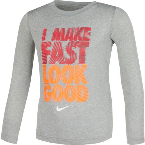Nike™ Boys' Make Fast Long Sleeve T-shirt