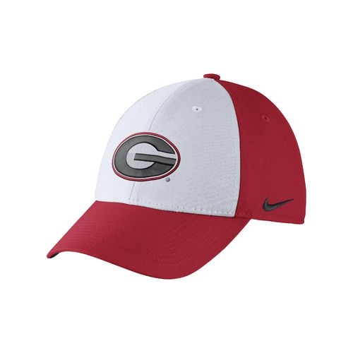 Nike Men's University of Georgia Dri-FIT Wool Swoosh Flex Cap