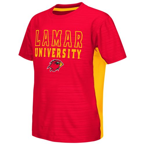 Colosseum Athletics™ Youth Lamar University In the Vault Cut and Sew T-shirt