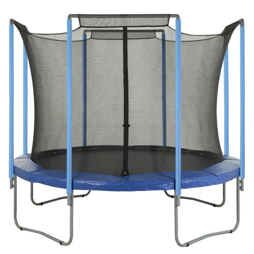 Upper Bounce® Replacement Trampoline Enclosure Safety Net for 15' Round Frames with 4 Arche - view number 5