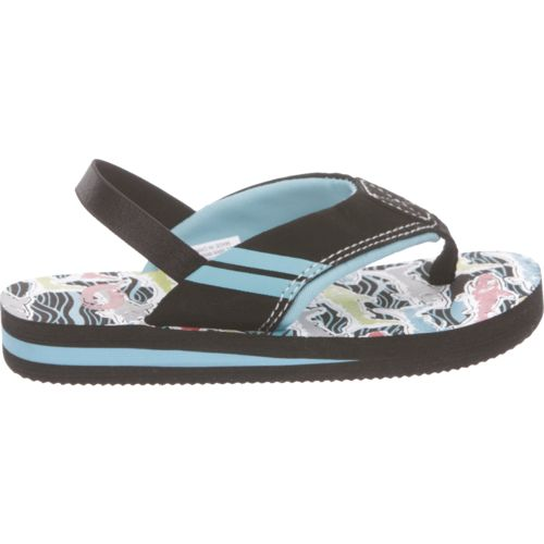 O'Rageous Toddler Boys' Shark II Flip-Flops