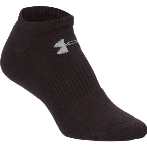 Under Armour Charged Cotton 2.0 No-Show Socks