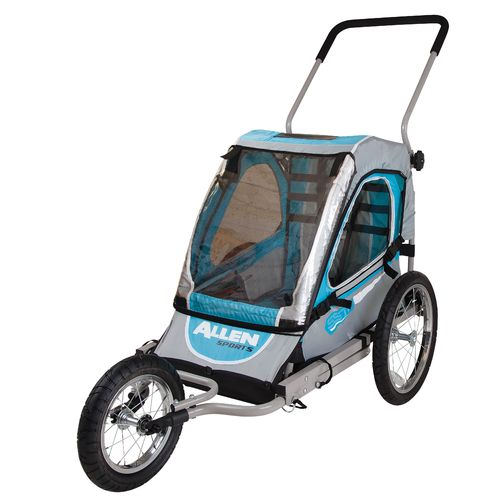Allen Sports 1-Child Jogger & Bicycle Trailer