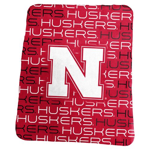 Logo™ University of Nebraska 50' x 60' Classic Fleece Blanket