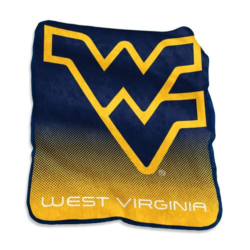 Logo West Virginia University 50 in x 60 in Raschel Throw
