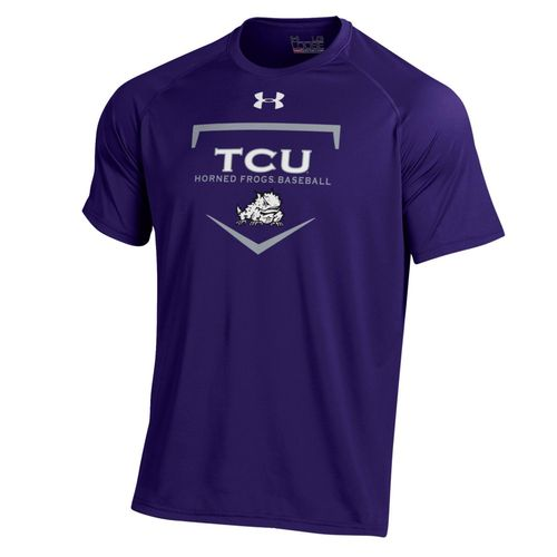 Under Armour Men's Texas Christian University Tech T-shirt