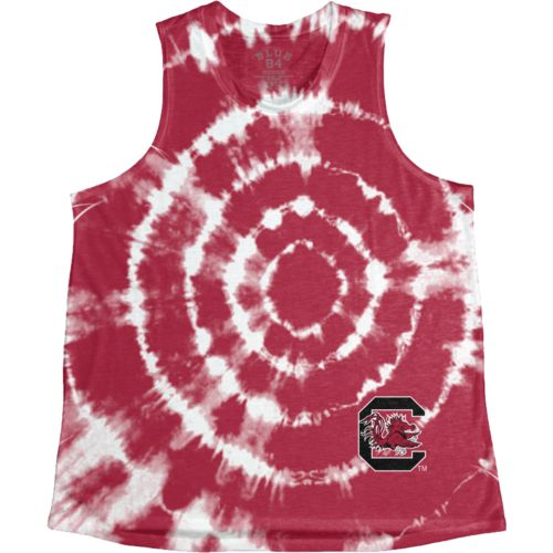 Blue 84 Women's University of South Carolina Retro Liquid Muscle Tank Top - view number 1