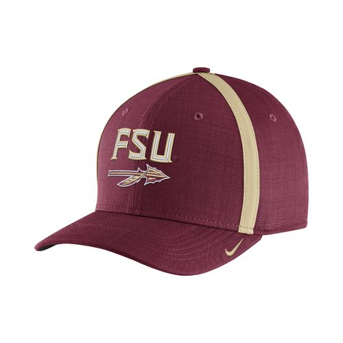 Nike™ Men's Florida State University AeroBill Sideline Coaches Cap