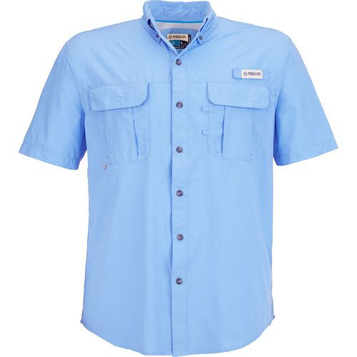 Magellan outdoors men 39 s laguna madre solid short sleeve for Big and tall fishing shirts