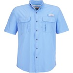Magellan Outdoors Men's Laguna Madre Solid Short Sleeve Fishing Shirt - view number 3